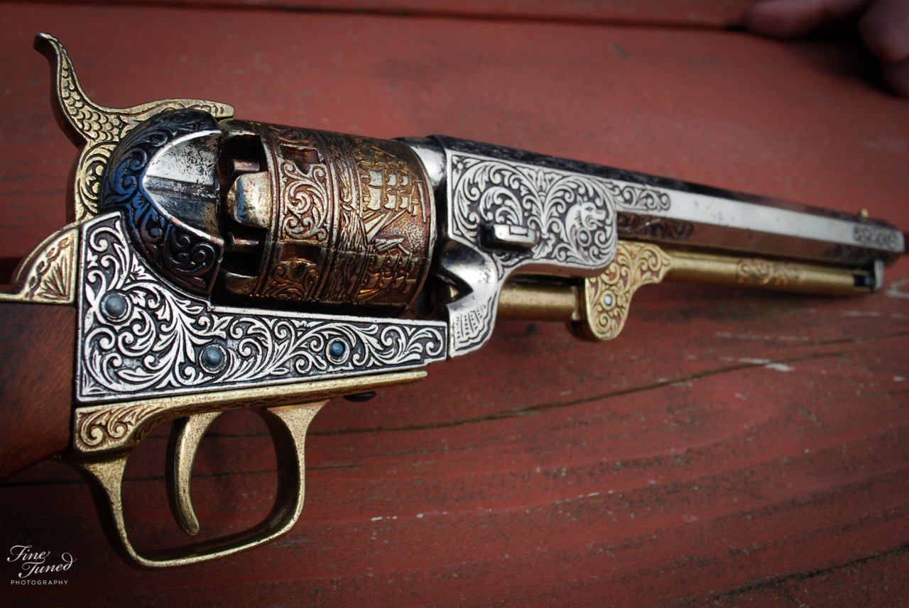 Old gun used in western movies.