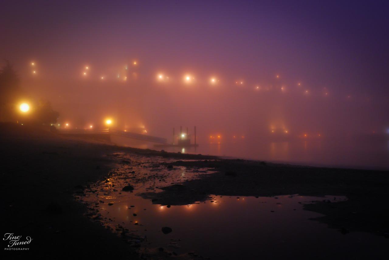 Burrard St Bridge Vancouver BC.