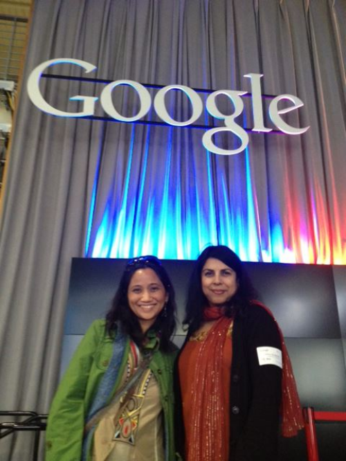 At Google Headquarters, CA