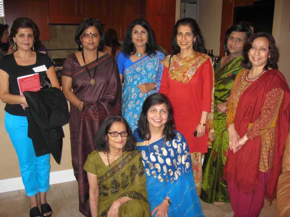 DIVAKARUNI AT SAHELI OPEN HOUSE IN AUSTIN