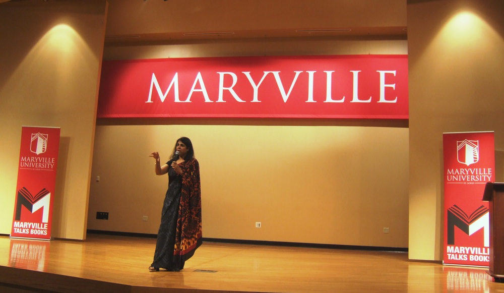 chitra speaking at maryville.JPG