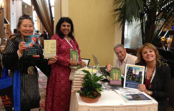 At the San Francisco Writers Conference with presenter Terry LeYung-Ryan and organizers Richard and Barbara Santos