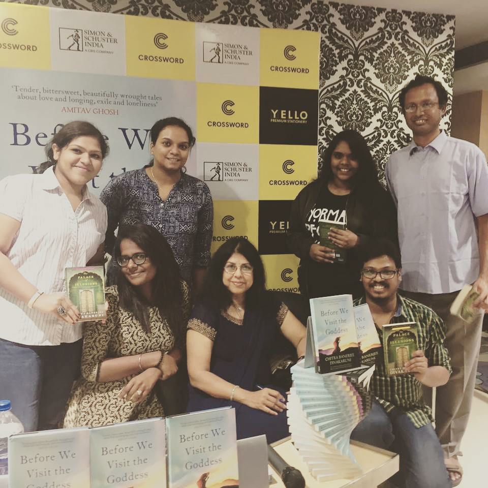WITH THE BROKE BIBLIOPHILES CHENNAI CHAPTER AT CROSSWORD BOOKSTORE, CHENNAI