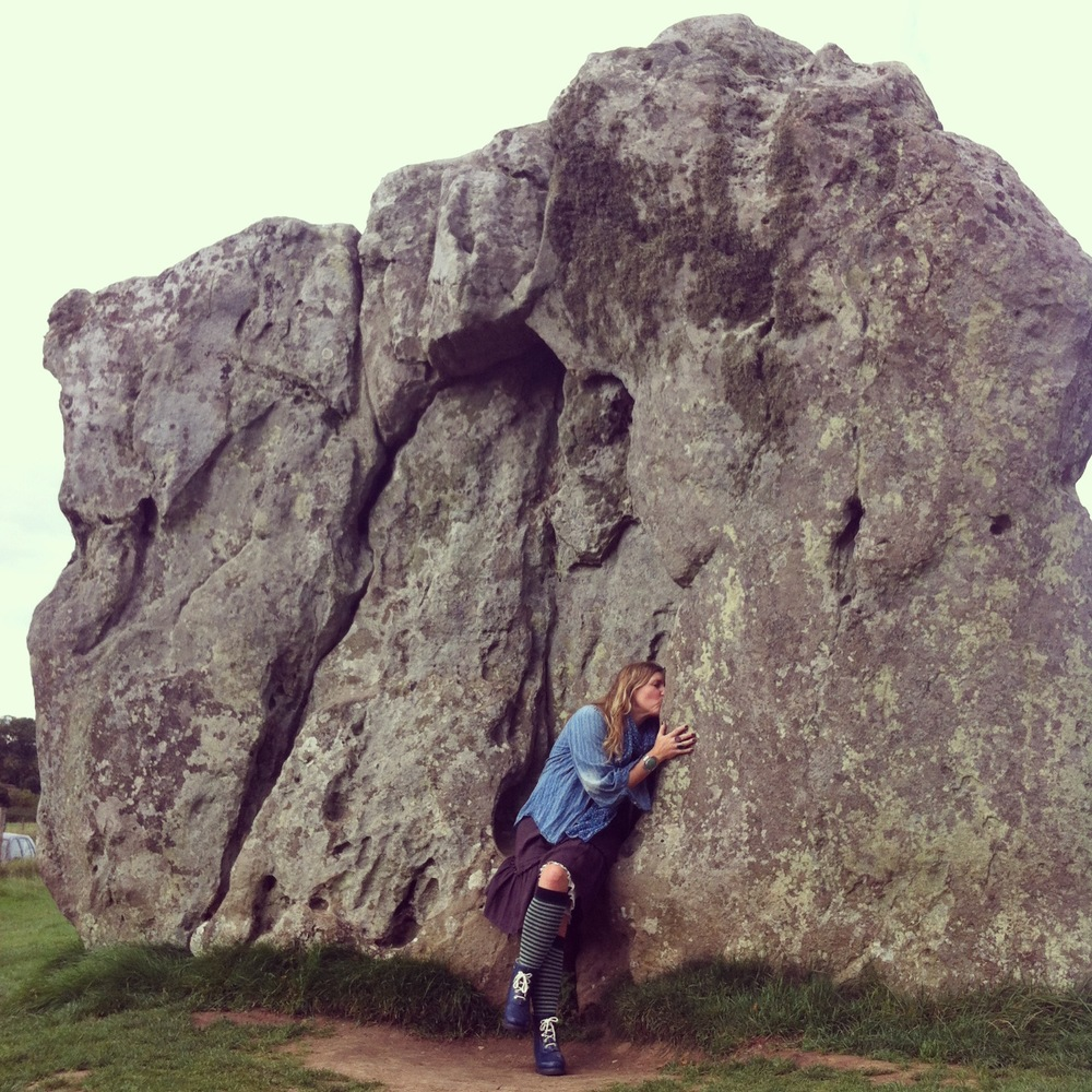 making out with sacred ancient stones in avebury