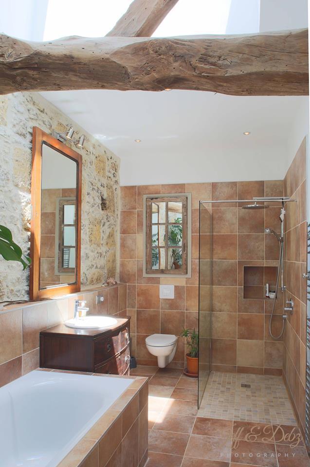 upstairs remodeled spa-like bathroom with huge soaking tub…