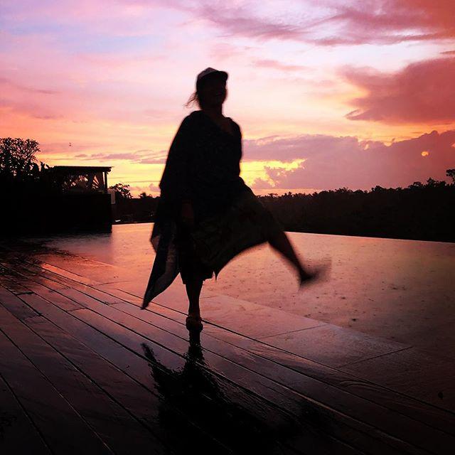 Extra. At sunset.  #bali #ubud #sunset #extra #feralambrosialstrange #thisisjustmylifenow
