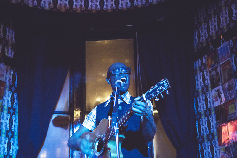Hotel Pelirocco, Brighton album launch, March 2016