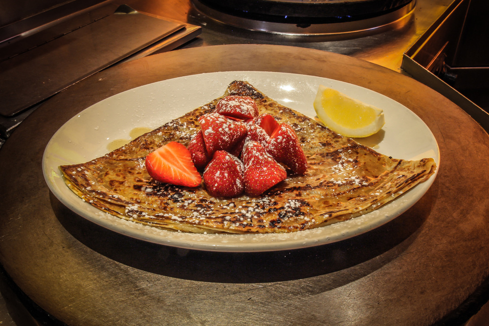 The very best ingredients and skilled crepieres to give you the perfect crepe