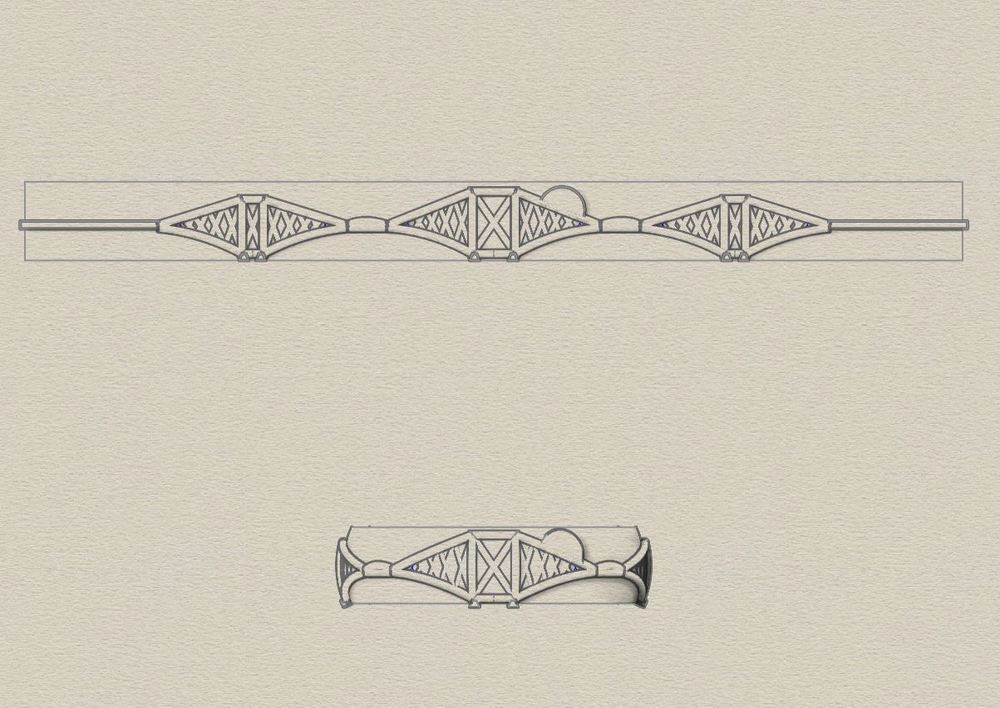 Detailed sketches for your bespoke piece of jewellery...
