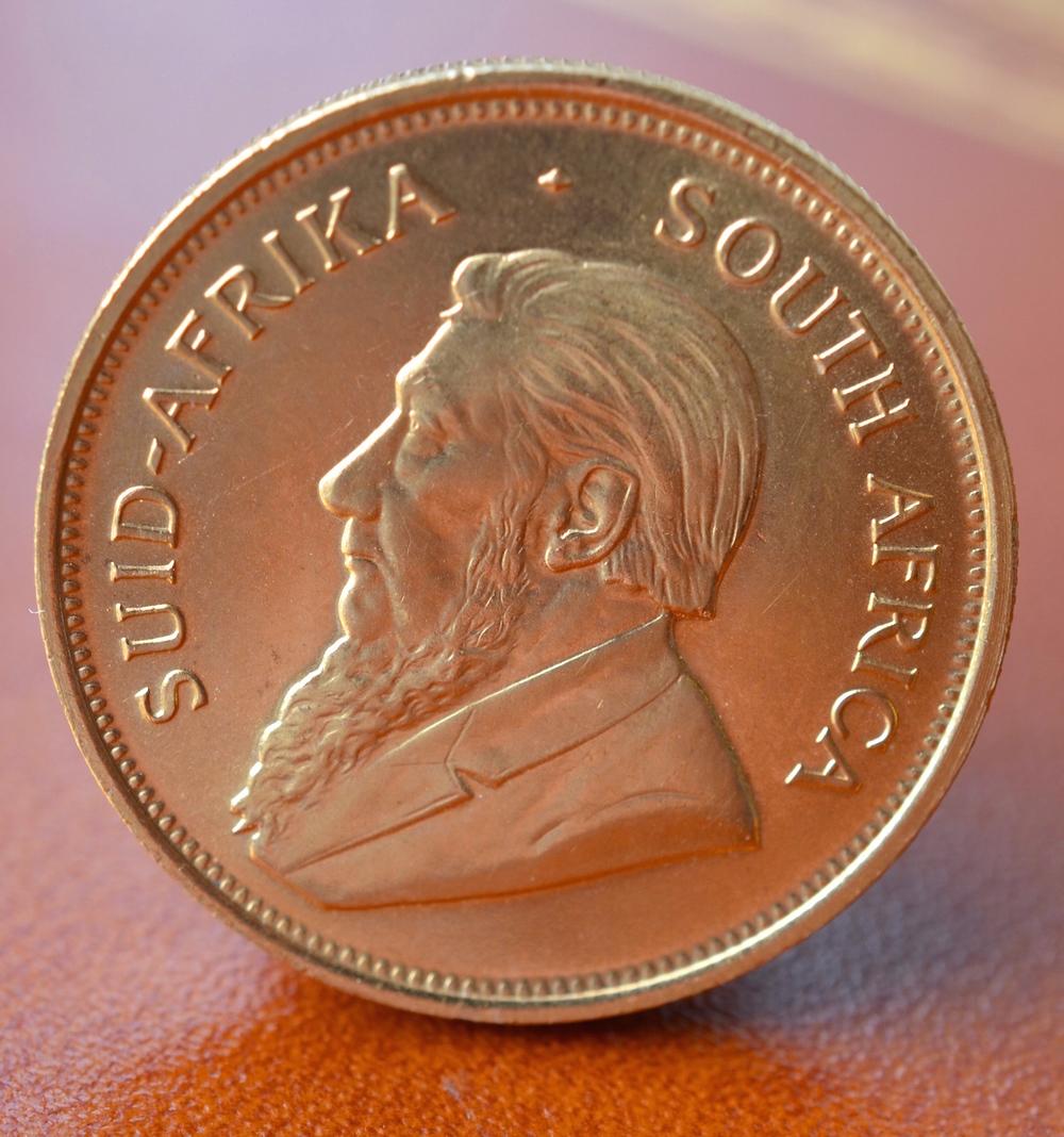 The coin has such a rich colour