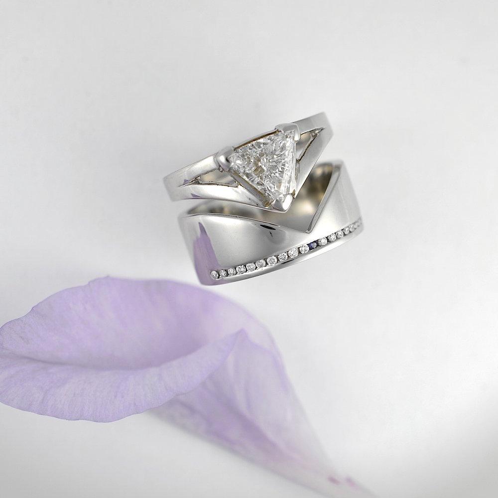 Bespoke engagement & wedding rings