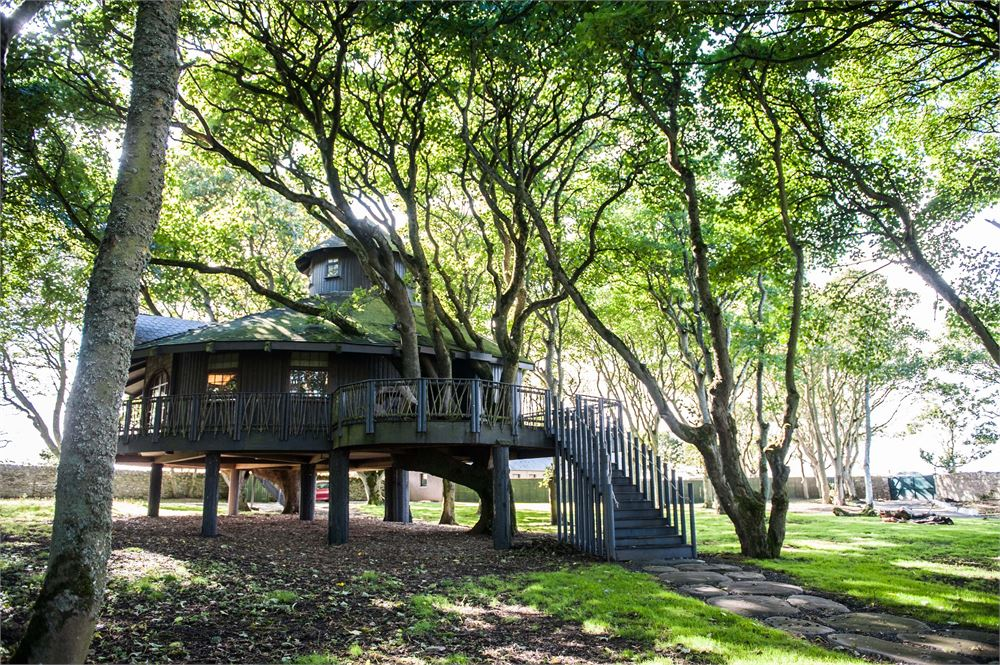 The treehouse at Ackergill Estate, Caithness
