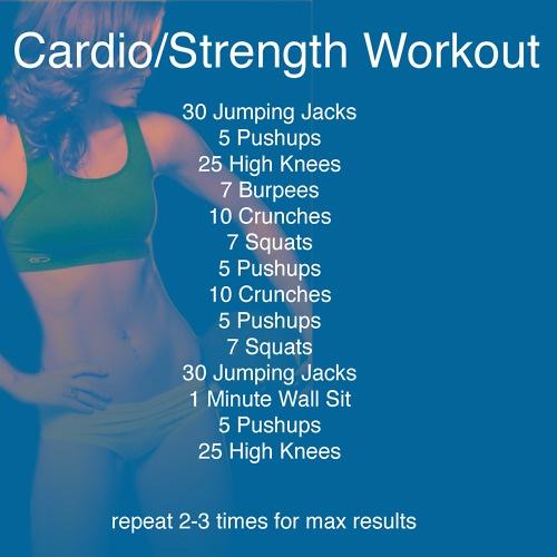 Cardio-Strength Workout