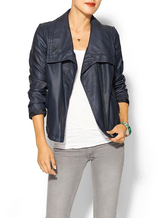 (Faux) Leather Moto Jacket
