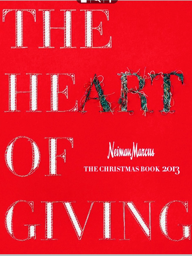 The cover of the 2013 Neiman Marcus Christmas Book