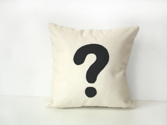 QuestionMarkPillow