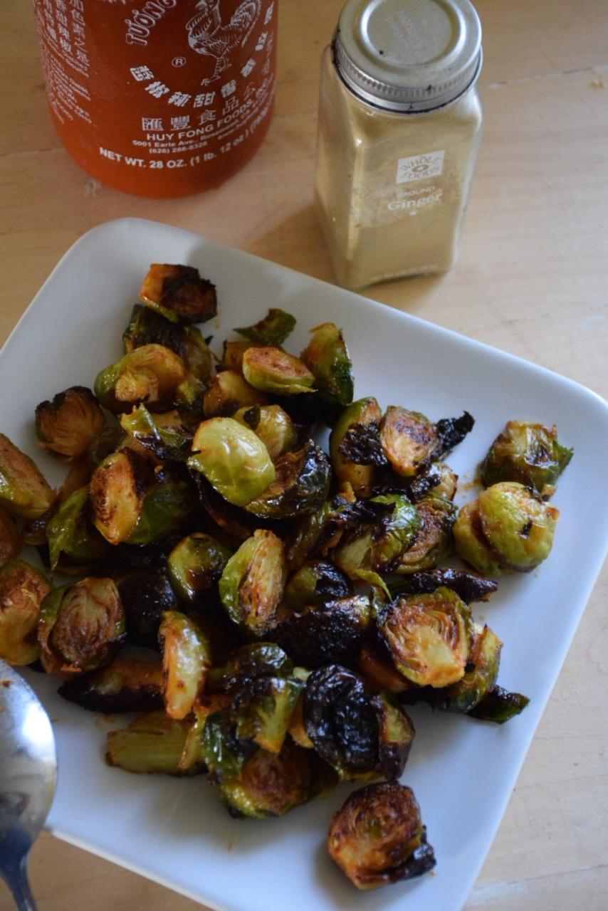 Recipe: Sriracha Brussels Sprouts