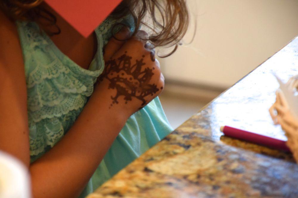 Taylor's henna