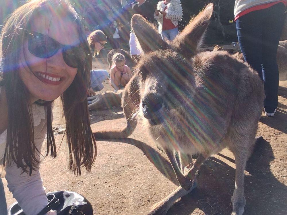 'Roo selfie