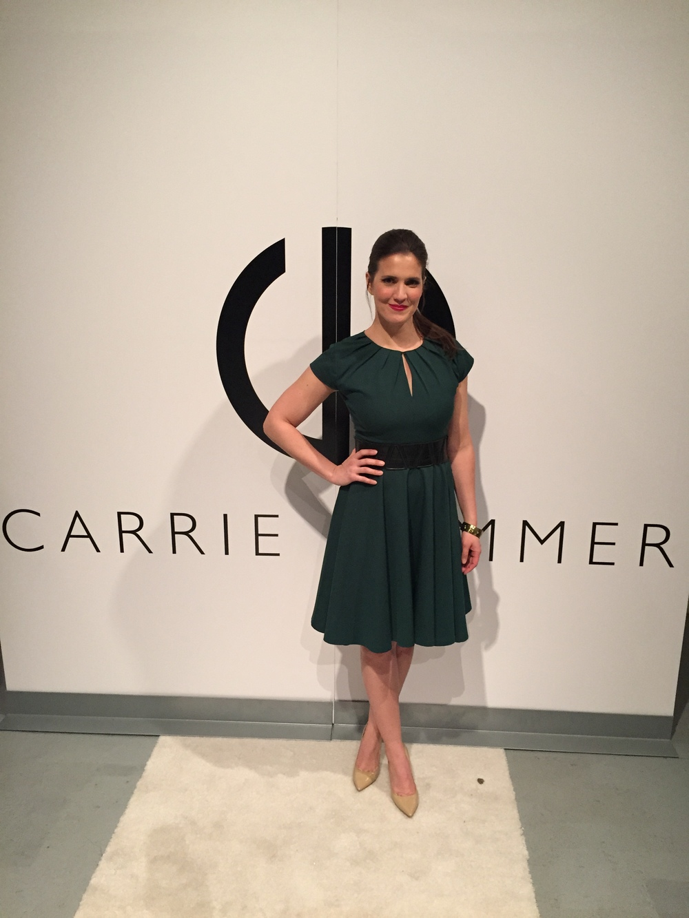 Carrie Hammer step & repeat