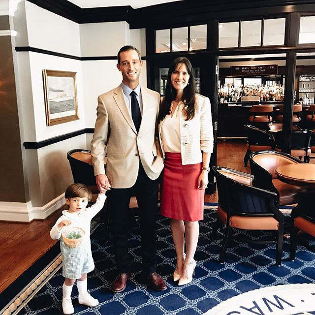 Happy Easter from the Eldridge family! — #family #easter #armynavyclubdc