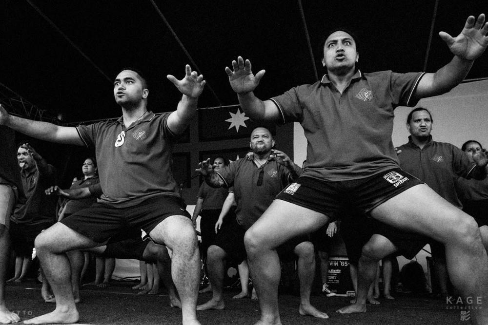 Te Raranga Whanui perform at Waitangi Day, Holroyd Gardens, Sydney