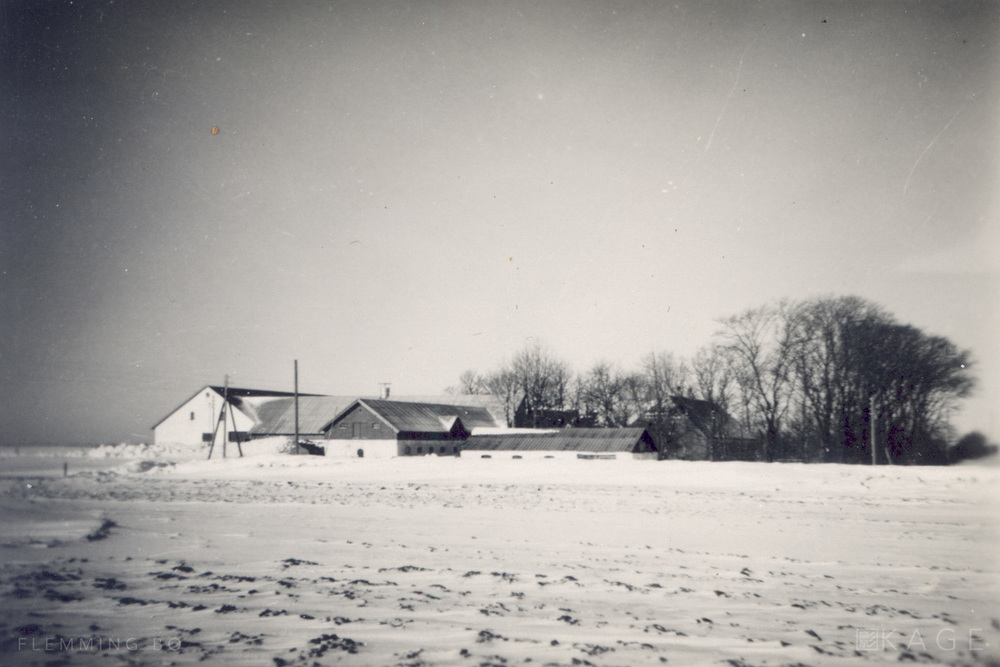 The farm, year unknown, probably 1950s-60s