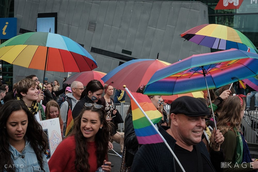 Marriage Equality march, Melbourne