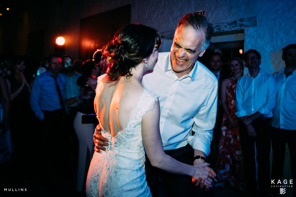 Dancing with Dad on my Wedding Day Kevin Mullins | X-T2, 16mm f1.4 lens. 1/250 at f/1.4,ISO 200.