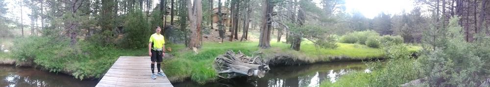 Trail alongside Pioneer Road in South Tahoe. July 2013
