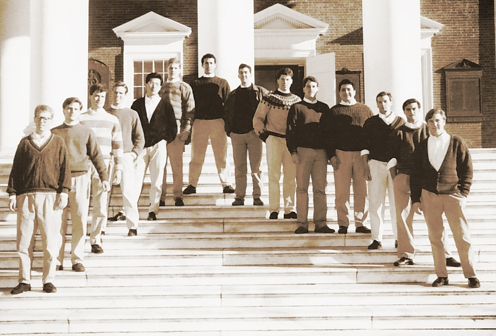 The VGs shortly after declaring independence, UVA 1989-1990.