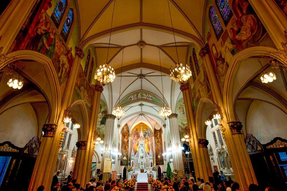 Decoração Igreja do Carmo Campinas