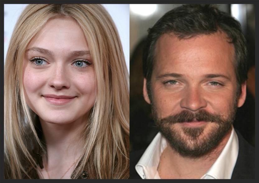 Actors Dakota Fanning & Peter Sarsgaard