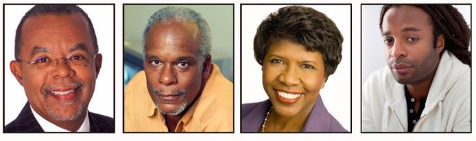 Host Henry Louis Gates, Jr., director Stanley Nelson, moderator Gwen Ifill, and musician John Forté