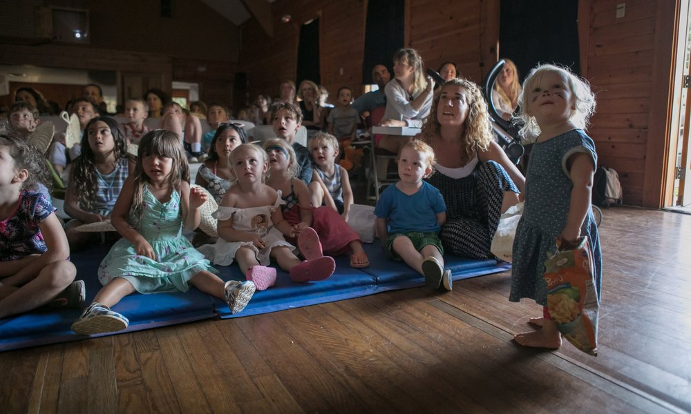 We offer filmmaking workshops, film screenings, and Cinema Circus for free so that all families can attend.