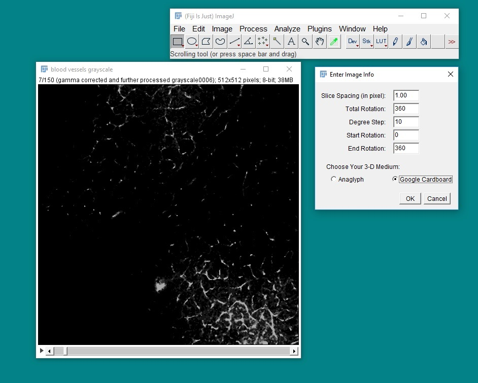Visikol ImageJ Plugin User Interface