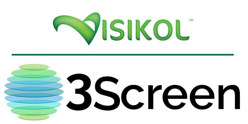 Visikol and 3Screen Logos
