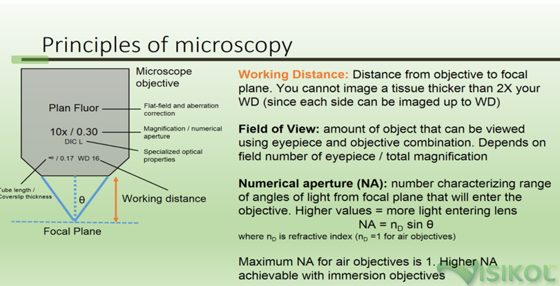 Principles of Microscopy - Visikol