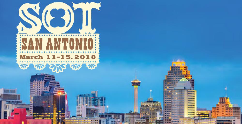 Visikol SOT 2018 San Antonio Logo