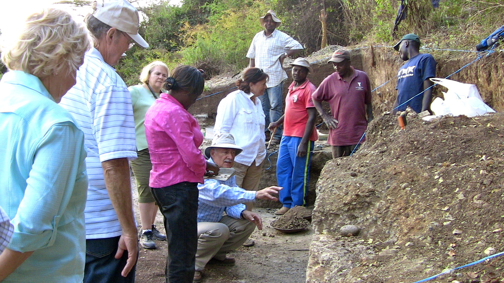 Leakey Trustees visit KFS in Nairobi