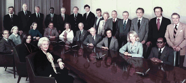 The Board of Trustees, 1975