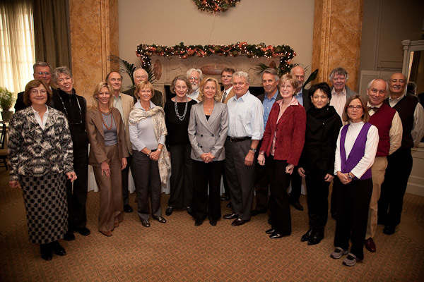 Members of The Leakey Foundation Board of Trustees and the SEC.
