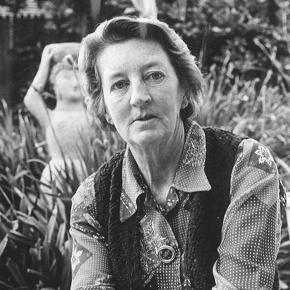 Mary D. Leakey, circa 1979.
