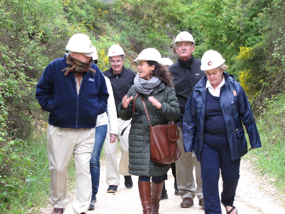Atapuerca with Maria Martinon-Torres.