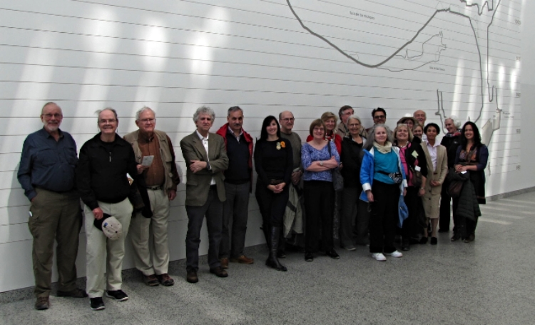 The Group at the Museum of Human Evolution.