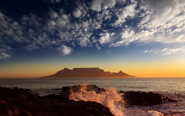 Table Mountain, Cape Town. Photo by Dietmar Temps CC BY-NC-ND 2.0