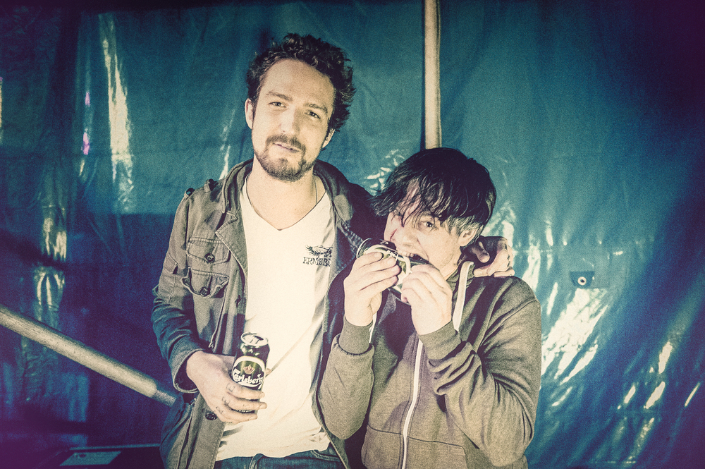 Frank Turner and Cahir O'Doherty