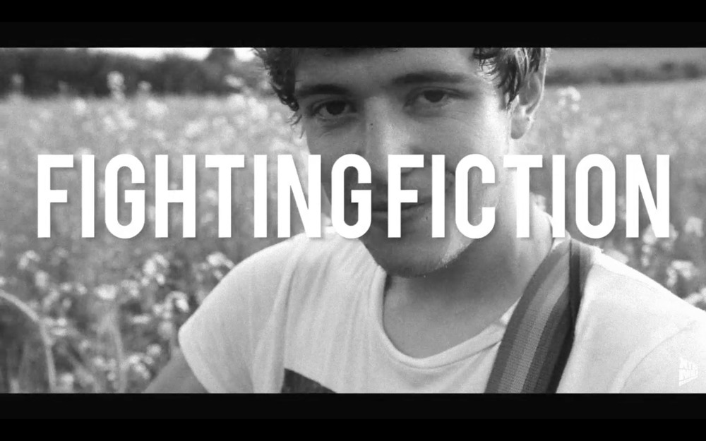 Still from an upcoming acoustic session with Fighting Fiction.