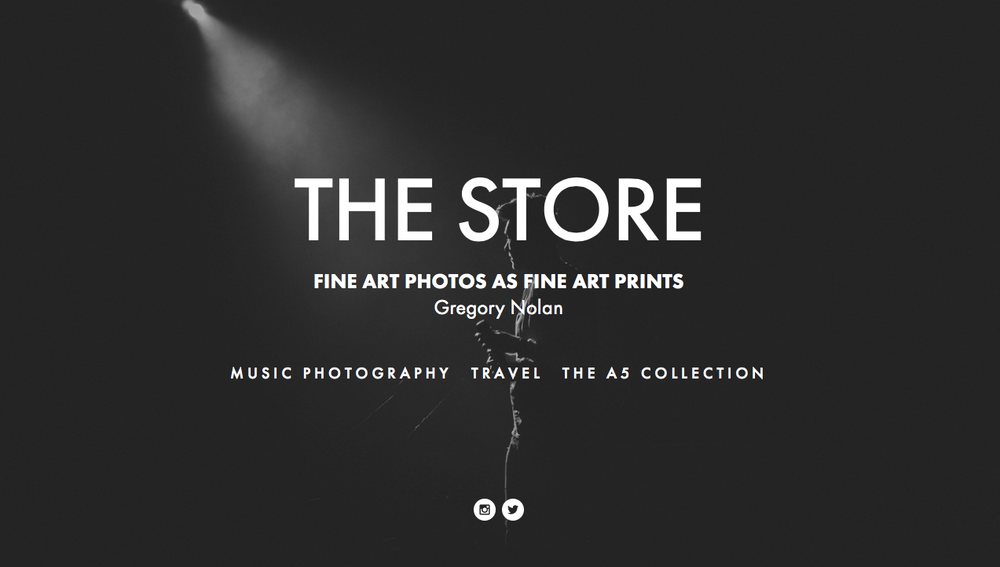 Gregory Nolan Photography Prints Store