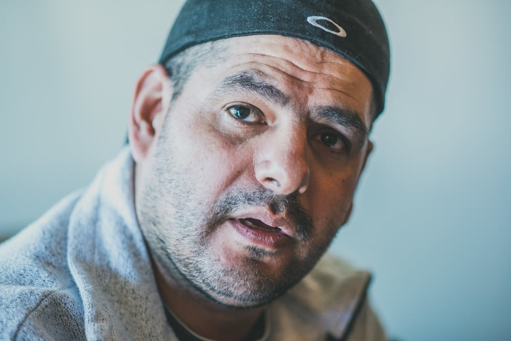 Portrait of Jose, a volunteer and former guest at  Casa de Paz , a hospitality house for families and former detainees at the Immigration Detention Center in Colorado.